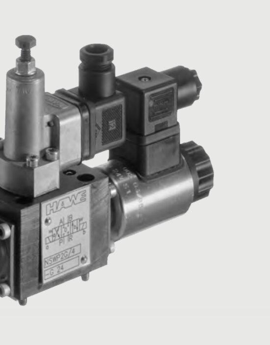 شیر هیدرولیک برقی اسپول کنترل جهت سری NSWP
