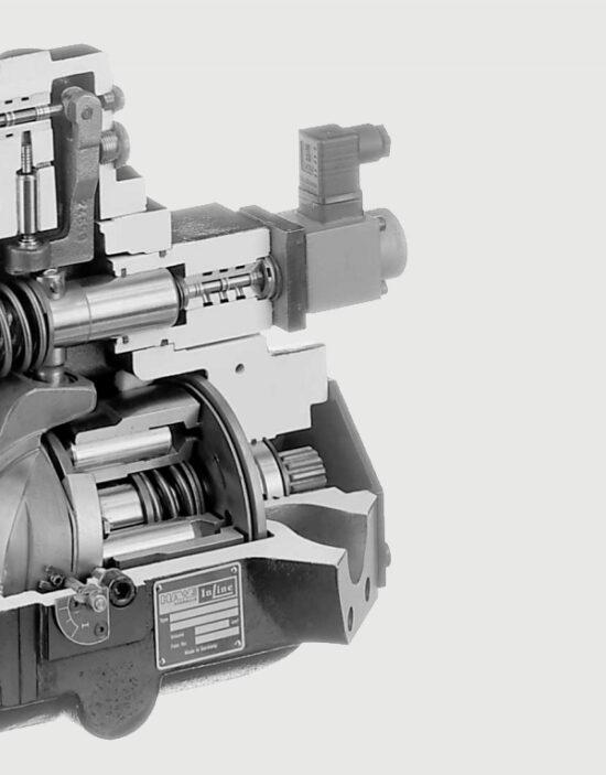 پمپ هیدرولیک پیستونی دبی متغیر V30D