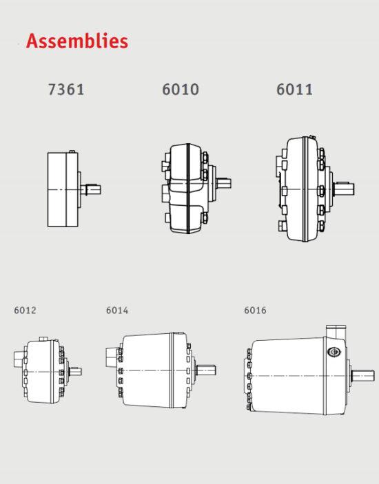 پمپ هیدرولیک پیستونی رادیال هاو نوع R و RG