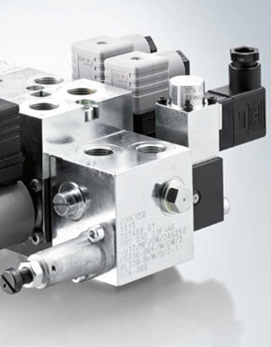 شیر هیدرولیک برقی اسپول hawe مدل SWS