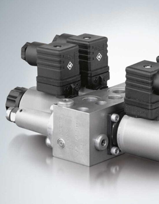 شیر هیدرولیک کنترل جهت HAWE نوع SW, SWP و SWR