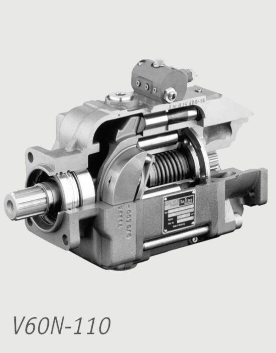 پمپ-هیدرولیک-دبی-متغیر-هاو-مدل-V60N-110