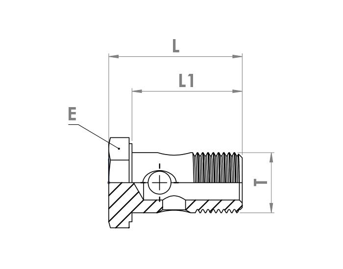اتصالات سری ثابت پیچ گازوئیلی هیدرولیک
