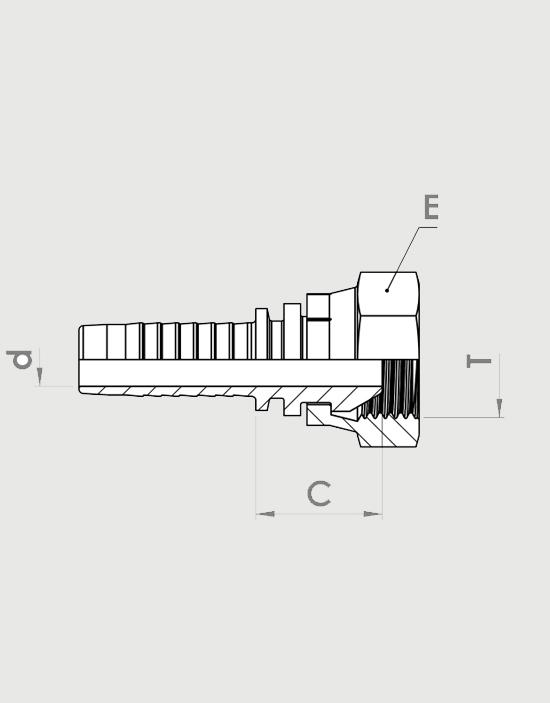 اتصالات سر شیلنگ هیدرولیک